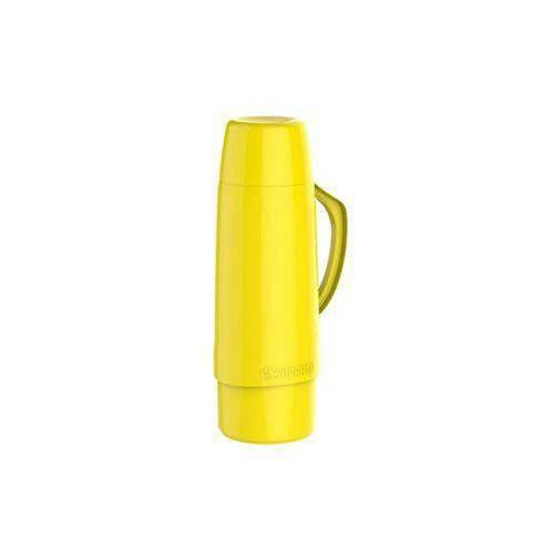 Garrafa Térmica Cristal 1L Amarela Soprano