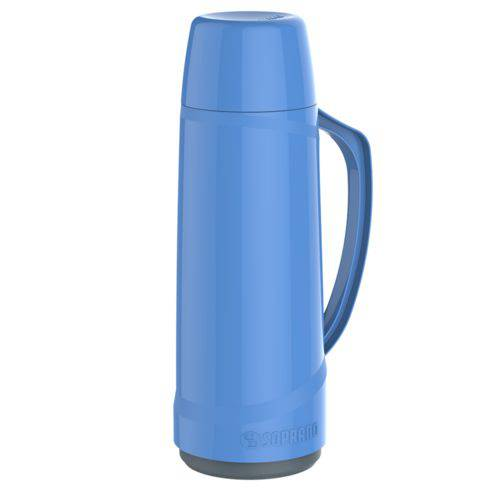Garrafa Termica Cristal 1l Azul