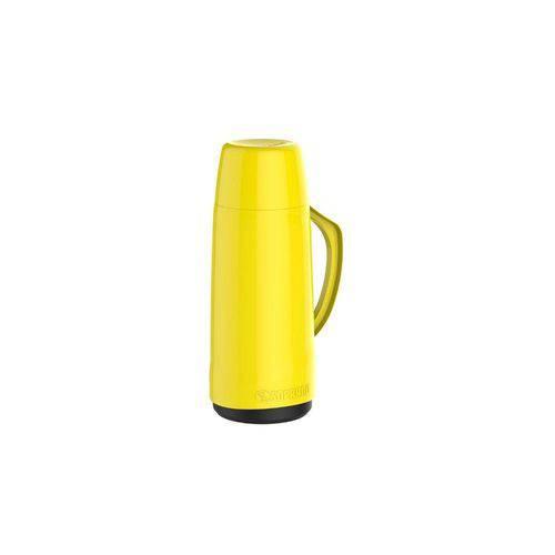 Garrafa Térmica Cristal 650 Ml Amarela Soprano