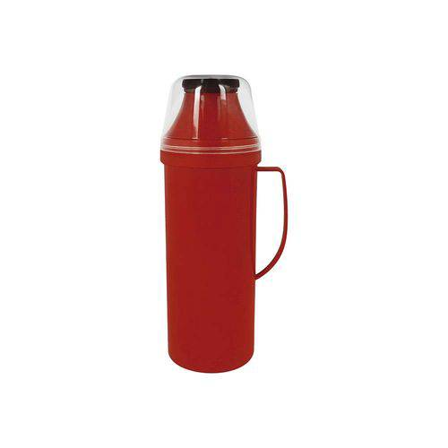 Garrafa Térmica Easy Flip 1 Litro Vermelha