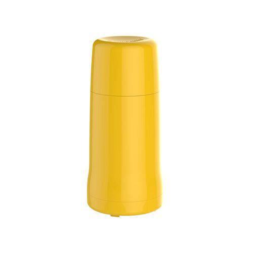 Garrafa Térmica Onix 250 Ml Amarela Pequena Multiuso