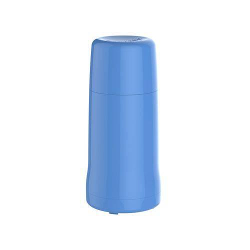 Garrafa Térmica Onix 250ml Azul Soprano