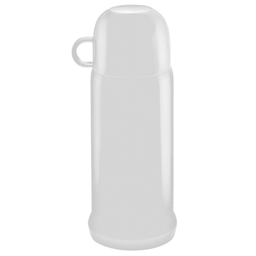 Garrafa Térmica Ônix 250ml Branco - Soprano