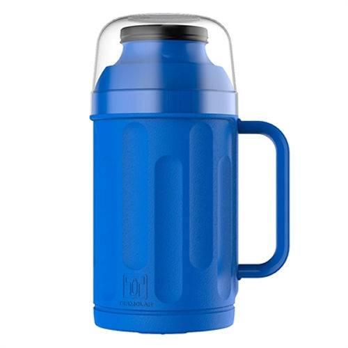 Garrafa Térmica Personal Rosca Azul de 500ml Termolar