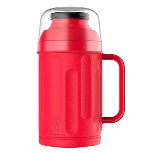 Garrafa Térmica Personal Rosca Vermelha Embalagem com 1 Unidades de 500ml Termolar