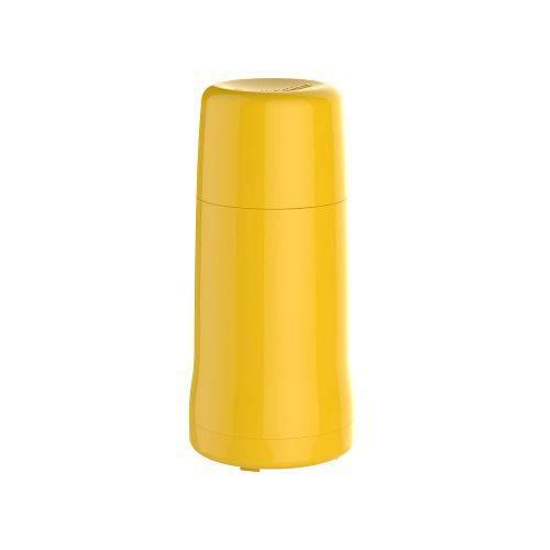 Garrafa Térmica Portátil Amarela 250 Ml Pequena Soprano Onix