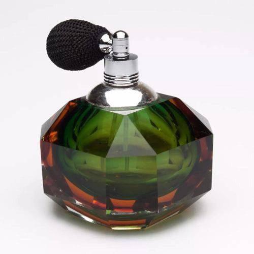 Garrafa Vidro para Perfume com Borrifador 6,5x6,5x8cm 2572