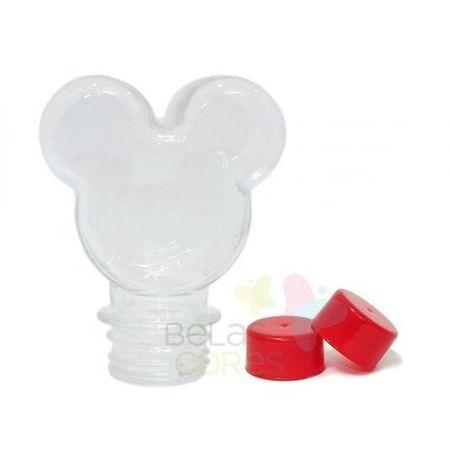 Garrafinha Mickey Tampa Vermelha - 10 Unidades