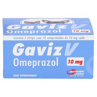 Gaviz V Omeprazol Agener 10mg C/ 50 Comprimidos