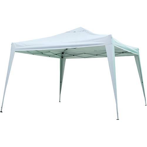 Gazebo X - Flex Branco - 3,00 X 3,00 M - Textil 100% Poliester C/ Silver Coating