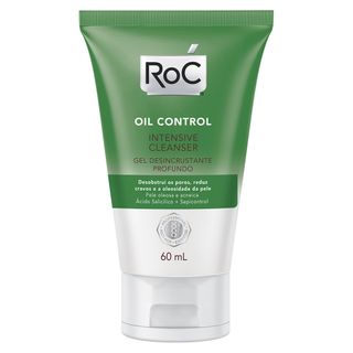 Gel de Limpeza Facial Roc - Oil Control Intensive Cleanser 60ml