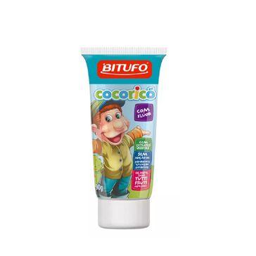 Gel Dental Bitufo Cocoricó com Flúor Sabor Tutti-frutti 90g