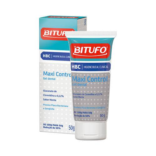 Gel Dental Bitufo Maxi Control - 50G
