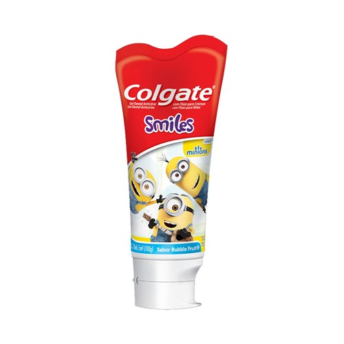 Gel Dental Colgate Junior Minions 100g