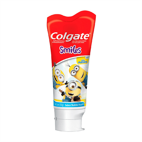 Gel Dental Colgate Kids Smiles Minions Bubble Fruit 100g