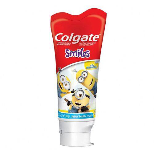Gel Dental Colgate Smiles Minions 100g