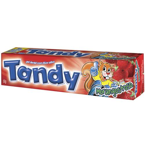 Gel Dental Morango 50g - Tandy