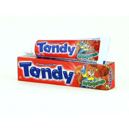 Gel Dental Tandy Morango 50g