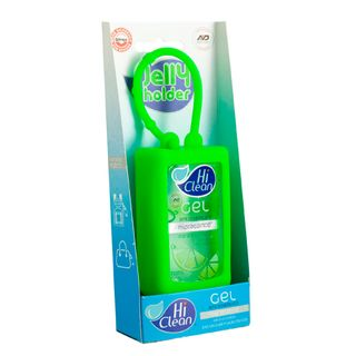 Gel Higienizador Antisséptico Hi Clean - Holder Blister Frutas Cítricas 70ml