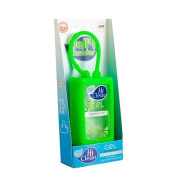 Gel Antisséptico Hi Clean Jelly Holder Extrato de Frutas Cítricas 70ml