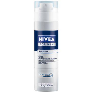 Gel para Barbear Nivea Sensitive 193g