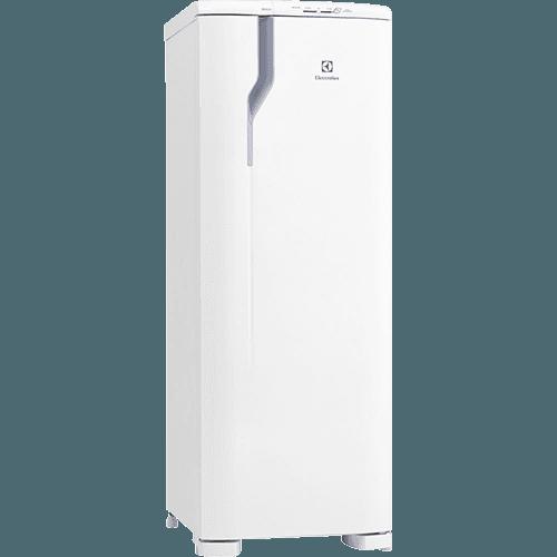 Geladeira / Refrigerador 1 Porta Electrolux Celebrate Blue Touch RDE33 Degelo Autolimpante 236 Litros - Branco