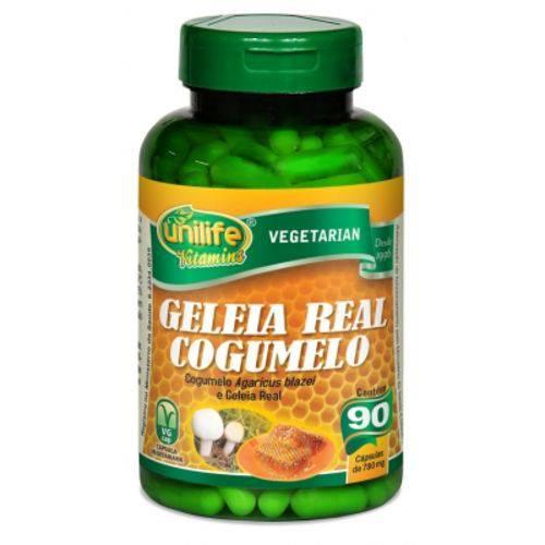 Geleia Real & Cogumelo 90 Cápsulas