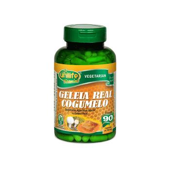 Geleia Real Cogumelo Agaricus Unilife 90 Cápsulas