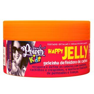 Geleinha Definidora de Cachos Soul Power - Happy Jelly Kids 250g