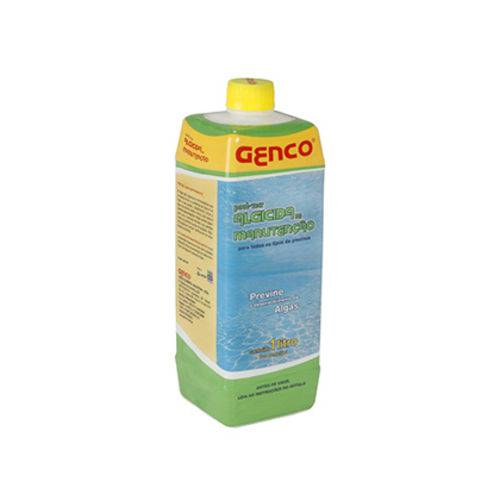 Genco Clarificante P/agua Algicida Manuten 1 L C/ 10unidades