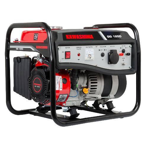 Gerador de Energia à Gasolina 1250w 127v Gg1250 Kawashima