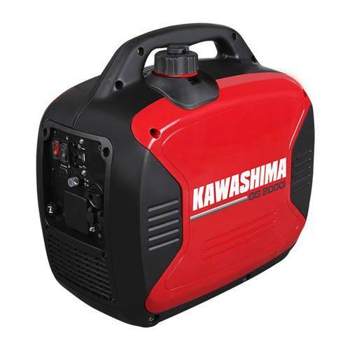 Gerador de Energia Gasolina Kawashima GG 2000i Inverter 2000W 220V