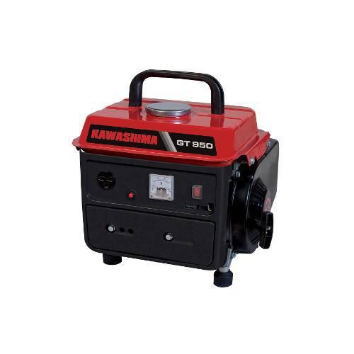Gerador Kawashima Gt950, a Gasolina, 2t, 62cc, 840w/950w, Carreg.Bateria, Voltimetro, 220v