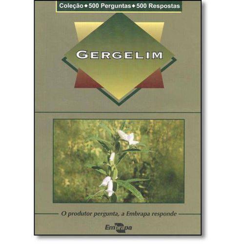 Gergelim - Coleção 500 Perguntas e 500 Respostas