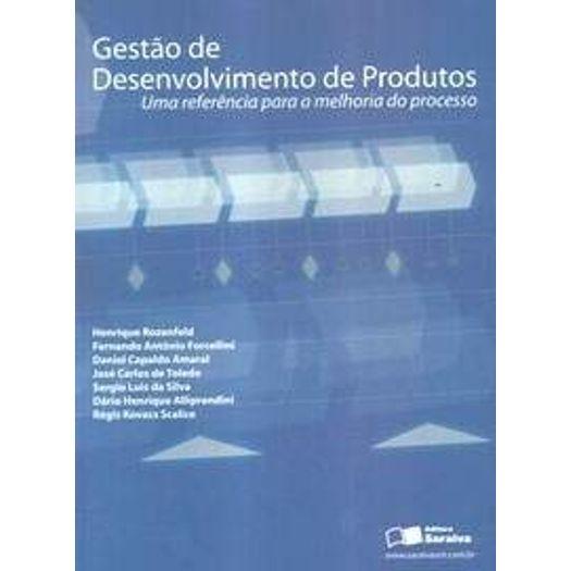 Gestao de Desenvolvimento de Produtos - Saraiva