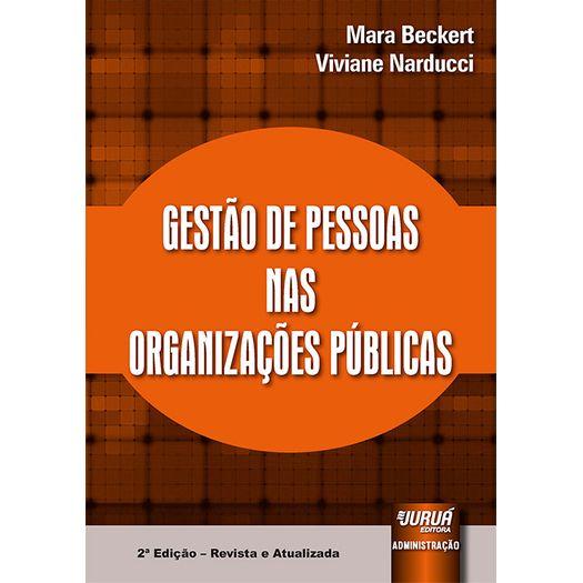 Gestao de Pessoas Nas Organizacoes Publicas - Jurua