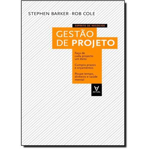 Gestão de Projeto - Coleção: Espírito de Negócios