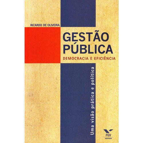 Gestão Publica: Democracia e Eficiencia