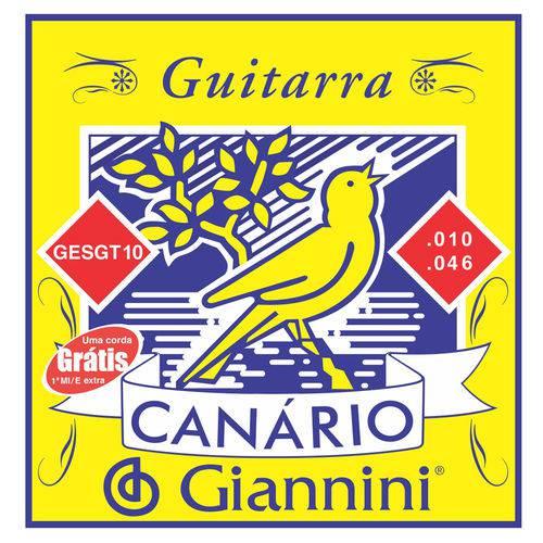 Giannini Corda Guitarra Gesgt 0.10-0.046 Leve