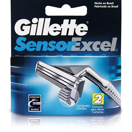 Gillette - Carga Sensor Excel C/ 2