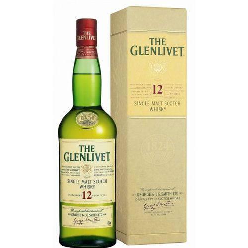 Glenlivet Single Malt 12 Anos Litro