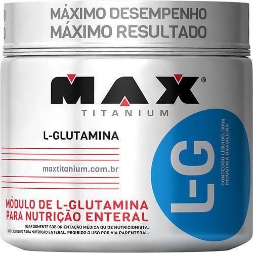 Glutamina 300gr 100% Pura - Max Titanium