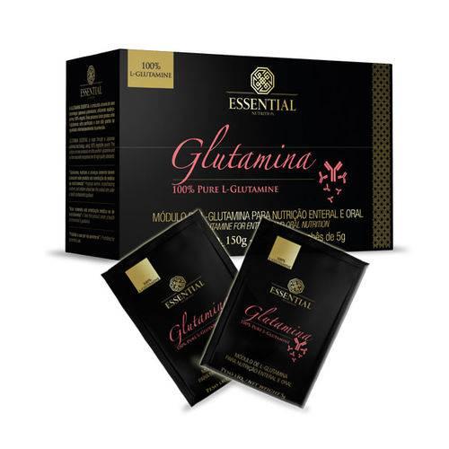 Glutamina Essential Nutrition 30 Sachês de 3g