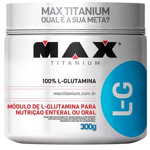 Glutamina L-G Max Titanium 300g