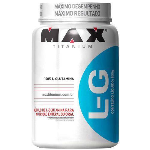 Glutamina L-g Pote 600g - Max Titanium