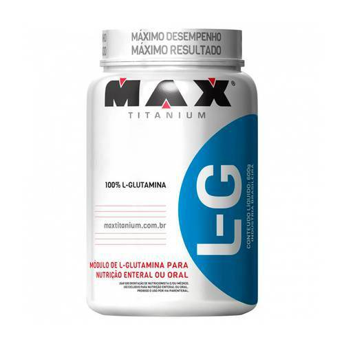 Glutamina Lg - 600g - Max Titanium