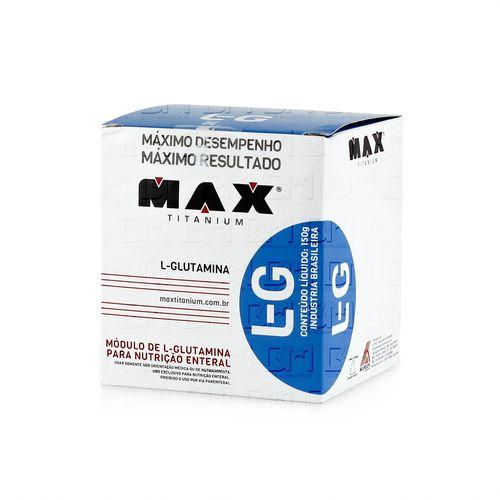 Glutamina - Max Titanium Glutamina 300g - Max Titanium