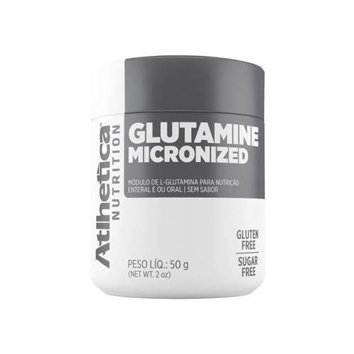 GLUTAMINA MICRONIZADA ATLHETICA 50g