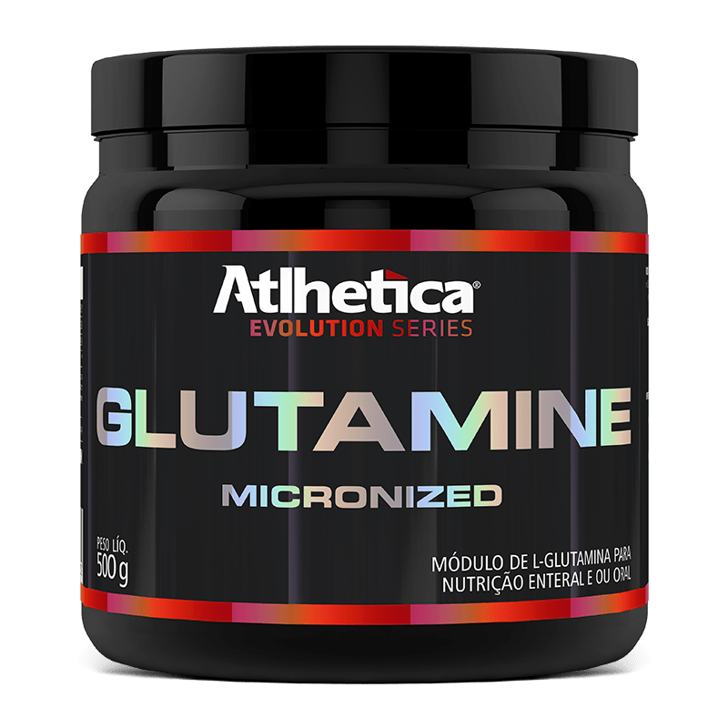 Glutamina Micronized (500g) Atlhetica Nutrition