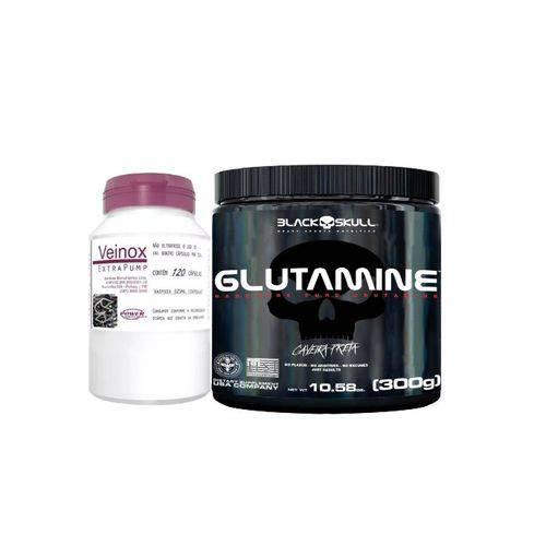 Glutamine 300g - Black Skull + Veinox!